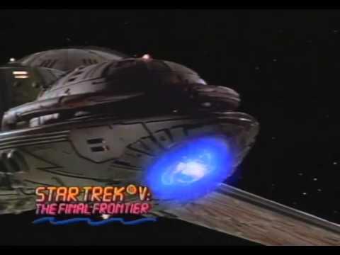 Star Trek V: The Final Frontier Trailer 1989