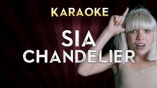 Sia - Chandelier | Lower Key 2 (Ab) Karaoke Instrumental Lyrics Cover Sing Along