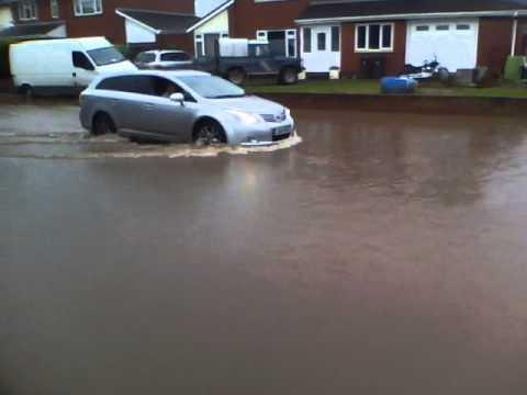 River Exe Flooding (25-Nov-2012)
