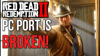 Red Dead Redemption 2 on PC is a BUGGY MESS!