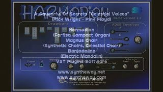 A Saucerful Of Secrets, Celestial Voices (Pink Floyd, Rick Wright) Harmodion, Magnus Choir VST