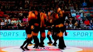 BK Jelgava Cheerleaders / Janet Jackson-Burn it up+Skrillex And Diplo - Jungle Bae / 2016