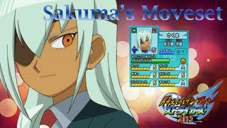 Sakuma's Moveset In Inazuma Eleven Go Strikers 2013