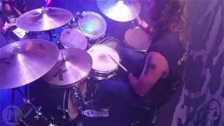 ENTOMBED A.D.@Waiting For Death-Olle Dahlstedt-live in Poland 2016 (Drum Cam)