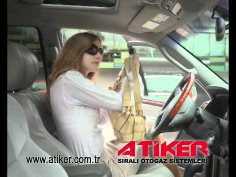 Atiker Sıralı Otogaz Sistemleri - 3500000 bayan sürücü Atiker'i tercih ediyor