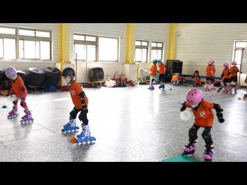 直排輪練習02 - YouTube