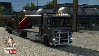 [ETS2 v1.23] DAF XF Flatbed with Trailer