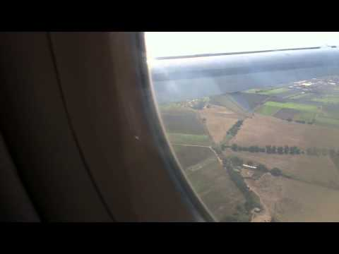 atterrissage d'urgence d'une avion  a alger