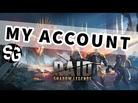[RAID SHADOW LEGENDS] MY ACCOUNT - REQUESTED. REALLY!