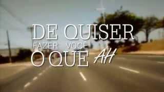 Matéria-Prima - Ah é (Lyrics Video)