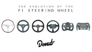 The Evolution of F1 Steering Wheels | Donut Media #FormFollowsFunction