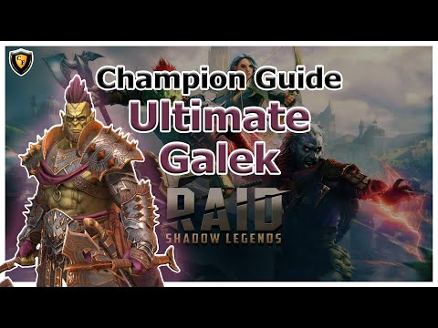 RAID Shadow Legends | Champion Guide | Ultimate Galek