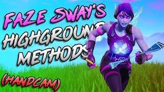 Learning FaZe Sway's Highground Retakes *HandCam*