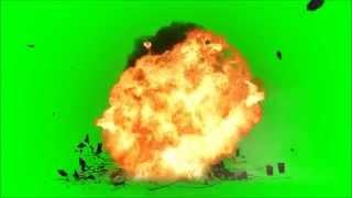 Efeito de explosão[chroma key] - Efeito tela verde
