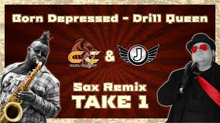 Born Depressed(Take 1) - Jimquisition Intro Theme Sax Cover | Carl Catron & Jim Sterling