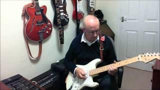 Hallelujah - Alexandra Burke version - Instrumental cover by Old Guitar Monkey