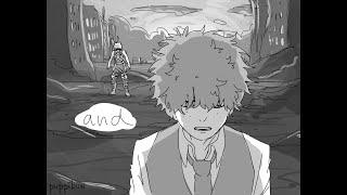 I Am Damaged | BNHA Villain Deku Animatic |