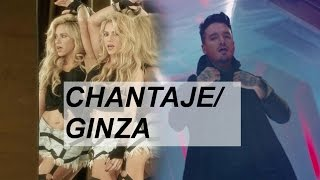 Shakira · Maluma · J Balvin - Chantaje / Ginza (Reggaeton Mix)