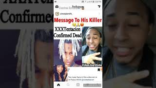 XXXTENTACTION REACTION TO HIS DEATH🖤