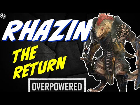 Rhazin is great again! A total machine RAID SHADOW LEGENDS