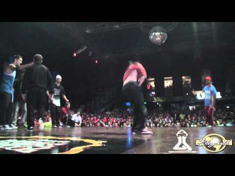 EAST SIDE BBOYS vs POLSKEE FLAVOUR | CREW BATTLE | BURN BATTLE SCHOOL 2011