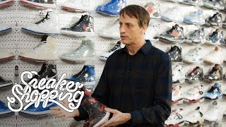 Tony Hawk Goes Sneaker Shopping With Complex