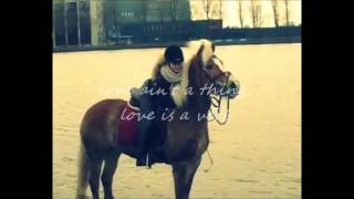 ♥ love ain't a thing love is a verb ♥