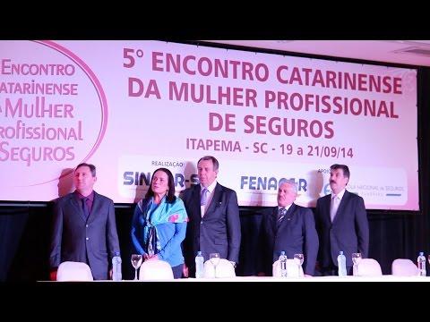 Imagem post: V Encontro Catarinense da Mulher Profissional de Seguros – 1º Dia
