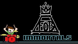 Fall Out Boy - Immortals (Drum Cover) -- The8BitDrummer