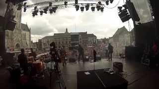Op het podium met URBANUS EN DE FANFAAR (live @ Suikerrock 2014) -GOPRO-