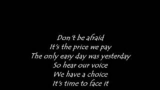 12 stones -We Are One (lyrics)