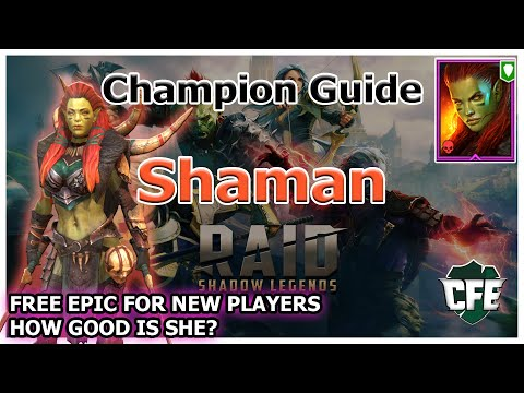 RAID Shadow Legends | Champion Guide | Shaman
