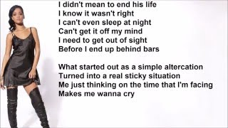 "Rihanna ""Man Down"" Lyrics"