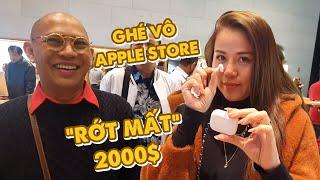 US Trip 2019| Bà xã Color Man trải nghiệm cửa hàng Apple Store khu sang Highland Houston và cái kết