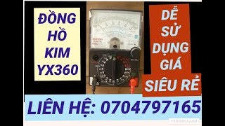 V.O.M Đồng hồ vạn năng giá rẻ 90k