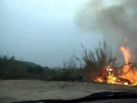 Incendie criminel à Jijel