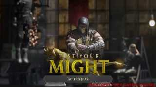 [Mortal Kombat X] Test Your Might Tower in under 60 seconds Flawless [HD]