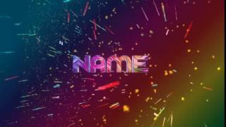 [#RDLEFXC1 ] INSANE PANZOID RAINBOW INTRO TEMPLATE #4 Best?