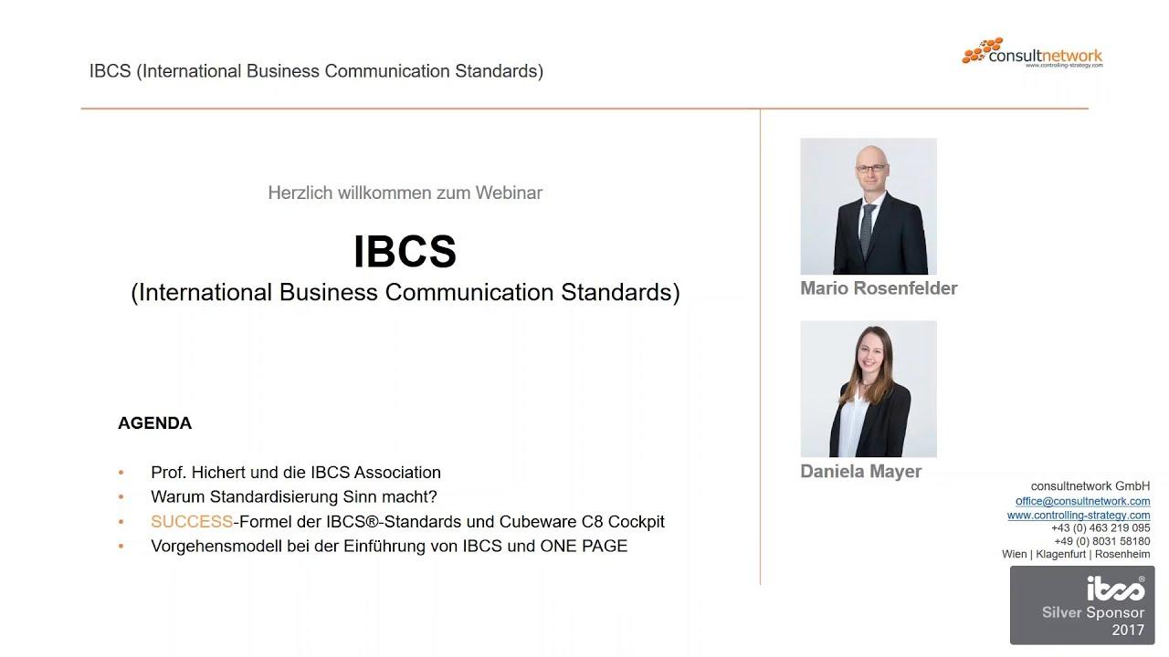 Die SUCCESS-Formel der IBCS®-Standards