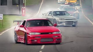 INSANE Japanese Cars Leaving a Car Show - JapFest 2019! [Part 3]