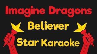 Imagine Dragons - Believer Acoustic (Karaoke Instrumental)