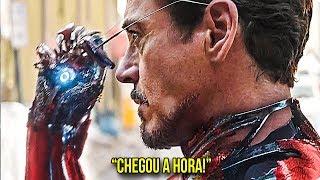 A NOVA ARMADURA SECRETA DO HOMEM DE FERRO!!! - SuperBowl Trailer
