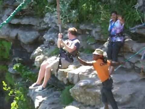 South Africa, Oribi Gorge Wild Swing. Fredrik Falk 3 January 2013 Getting Back Up