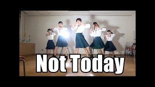 【再アップ企画】BTS 防弾少年団「Not Today」DANCE 踊ってみた