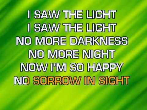 Hank Williams I Saw The Light Karaoke Chords Chordify