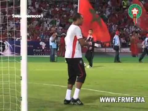 Morocco . Maroc Vs Tanzanie 1/2