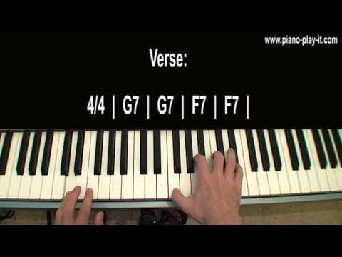 Comment jouer Rehab d'Amy Winehouse au piano