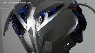 wear Iron Man Mark 47 46 armor costume suit chest sound effect 2