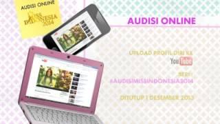 AUDISI ONLINE MISS INDONESIA 2014 (Pomo)