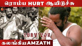Biggboss-னு நினைச்சுட்டா VJ Parvathy - Amzad Khan | Survivor Tamil | Arjun | Zee Tamil
